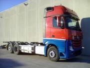 Box With Tarpaulin And Tail Lift Mercedes Actros 2542 L Giga Space