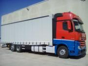 Open Box With Tarpaulin Mercedes Actros 2542 L Giga Space